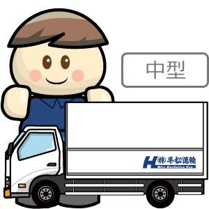 中型ウィング車(平松運輸)